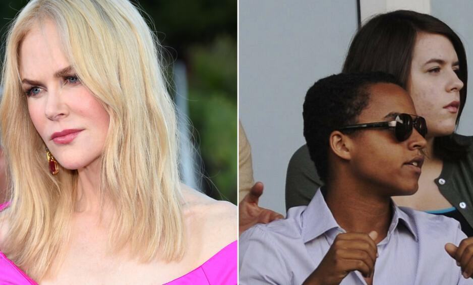 ANSPENT: Nicole Kidman (52) mistet foreldreretten til barna, og etter bruddet med Tom Cruise (57) skal hun ikke ha fått ha kontakt med sønnen Connor (24) og datteren Isabella (26). Foto: NTB Scanpix