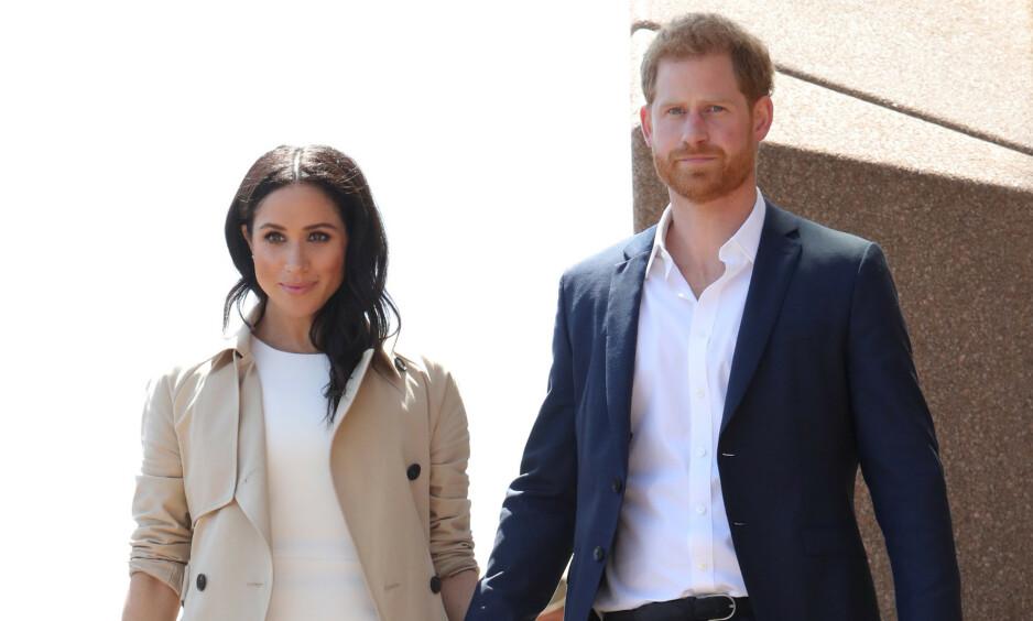 <strong>VANSKELIG Å FORBEREDE:</strong> Hertuginne Meghan har fått gjennomgå etter at hun giftet seg med prins Harry. Nå mener kongehusekspert at hun ikke ble godt nok forberedt på det nye livet. Foto: NTB Scanpix