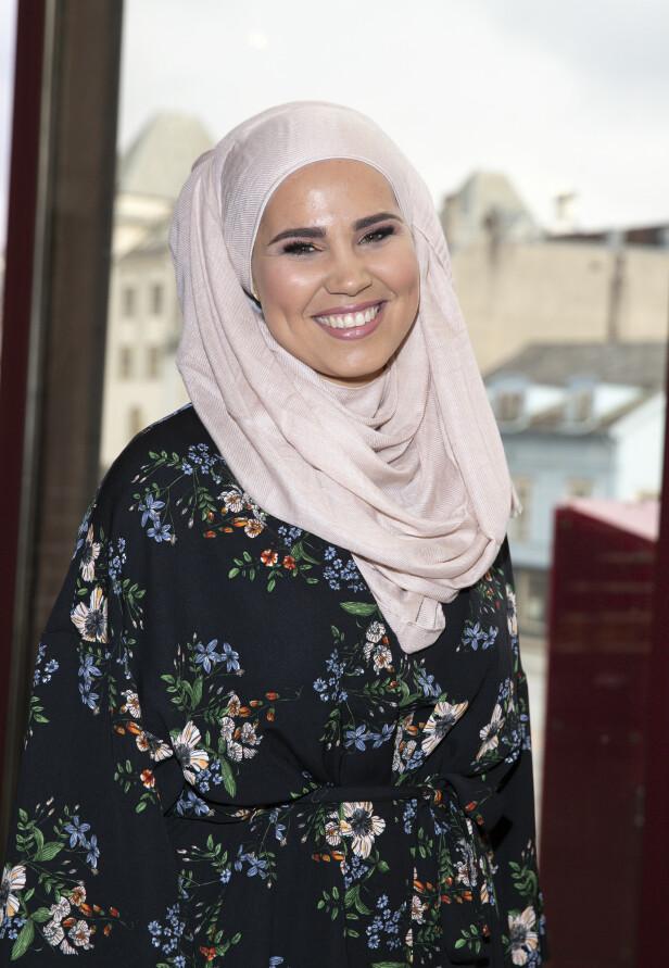 NYGIFT: Iman Meskini giftet seg 12. juni, og nå er hun på en romantisk bryllupsreise i Tyrkia. Foto: NTB Scanpix