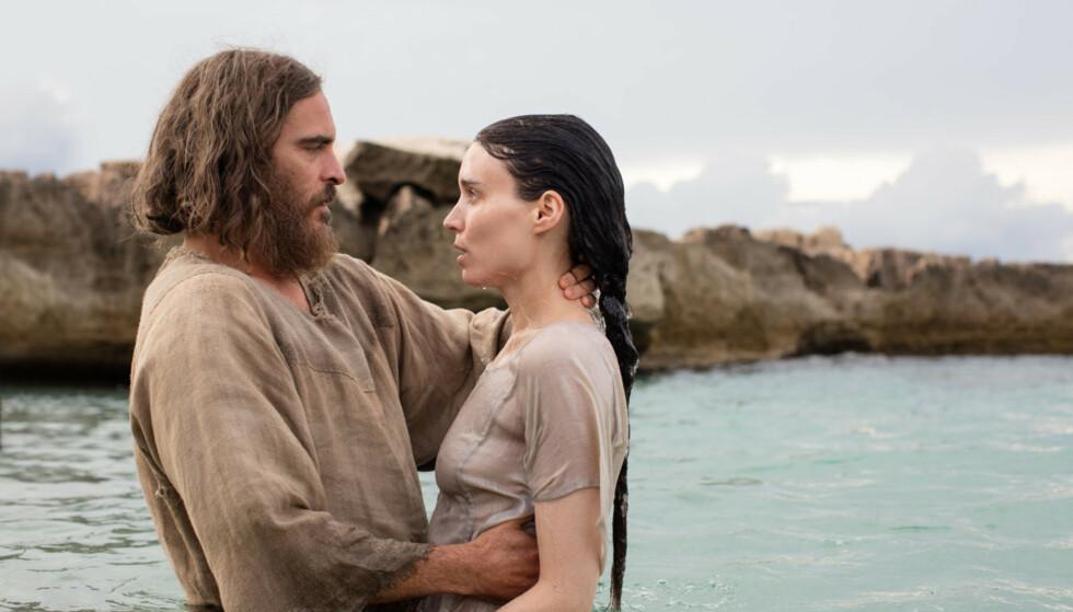 JESUS OG MARIA: Det skal ha vært under filmen «Mary Magdalene», der de spiller Jesus og Maria, at paret forelsket seg i hverandre. Foto: NTB Scanpix