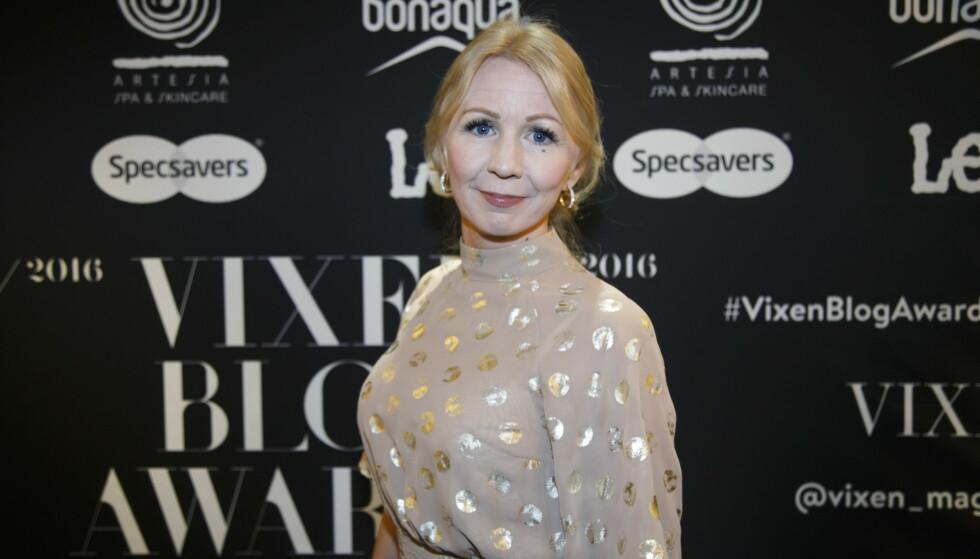 TIDLIGERE BLOGGER: Anne Brith la ned bloggeren tidligere i år på grunn av barnas sikkerhet. Her ankommer hun Vixen Blog Awards i 2017. Foto: NTB Scanpix