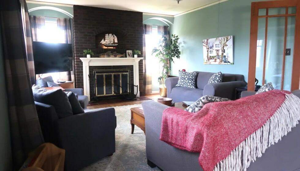 HELT LIKT: Huset er fortsatt veldig likt slik det var i filmene. Foto: Airbnb
