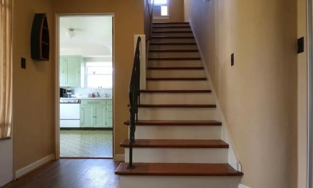 IKONISKE ØYEBLIKK: Mange iknoiske film-øyeblikk skjedde i dette huset. Foto: Airbnb