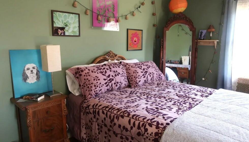 BELLAS SOVEROM: Her sov tenåringsjenta, som alle ville være, Bella Swan. Foto: Airbnb