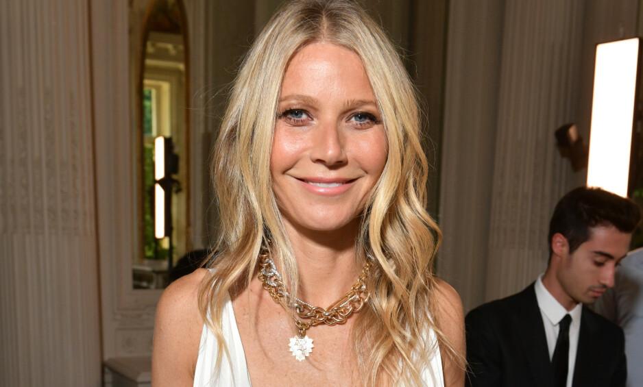 ÆRLIG OM ALDRING: Hollywood-stjernen Gwyneth Paltrow stiller spørsmål ved hva som skjer hvis du ikke er like attraktiv når du blir eldre. Foto: NTB Scanpix