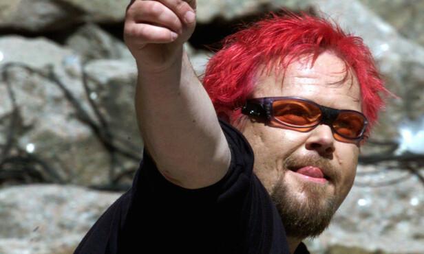 IKONISK: Mange som har fulgt Asgeir Borgemoen husker ham nok med det signalrøde håret. Her i 2001. Foto: NTB Scanpix
