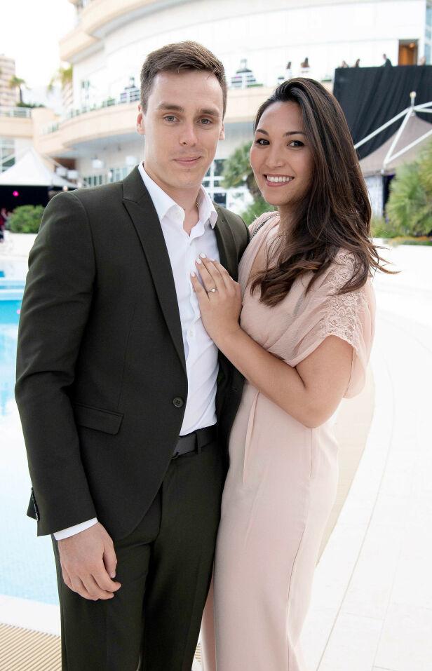 GIFTET SEG: Paret offentliggjorde dette bildet da de forlovet seg i januar 2018. Nå har de giftet seg. Foto: NTB Scanpix