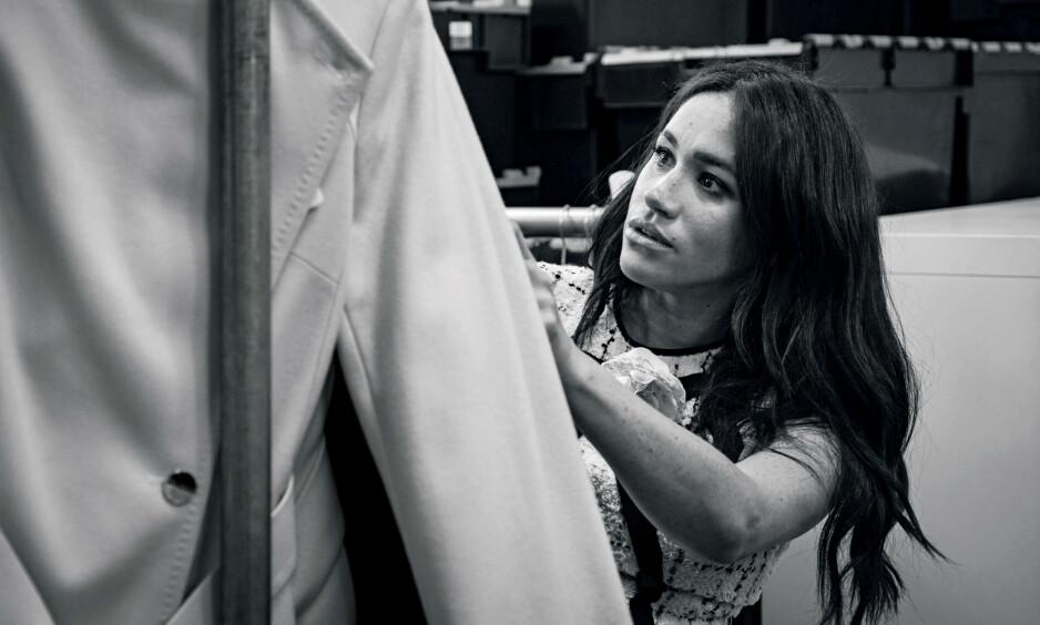SKRIVER HISTORIE: Hertuginne Meghan er gjesteredaktør i den kommende utgaven av britiske Vogue. Foto: Reuters / NTB Scanpix