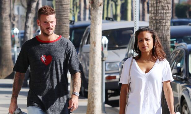 LYKKELIG: Christina Milian har uttalt at forholdet til kjæresten er annerledes enn alle hennes tidligere forhold. Foto: NTB Scanpix