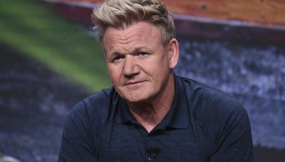 KRITIKK: TV-kokken Gordon Ramsay kritiseres for å spise det mange ser på som et kjæledyr. Foto: NTB Scanpix