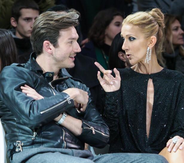 ERTERIS: Céline Dion har tidligere avkreftet at det er noen romanse mellom henne og den 17 år yngre danseren Pepe. Foto: NTB Scanpix