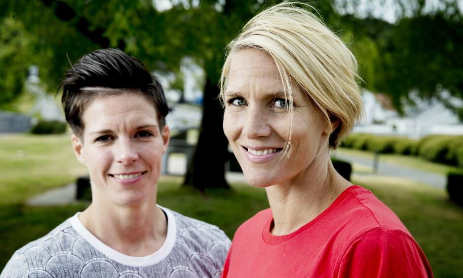 KJÆRLIGHETSERKLÆRING: Gro Hammerseng-Edin meddelte sin takknemlighet overfor kona Anja Hammerseng-Edin (36) på Instagram denne uken. Foto: Bjørn Langsem / Dagbladet