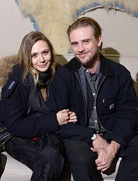 TRE ÅR: Elizabeth og skuespillerkjæresten Boyd Holbrook var sammen i tre år før det endte i brudd. Foto: NTB Scanpix
