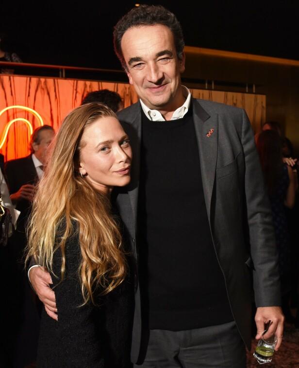 GIFT: Mary-Kate har vært gift med franskmannen Olivier Sarkozy siden 2015. Foto: NTB Scanpix