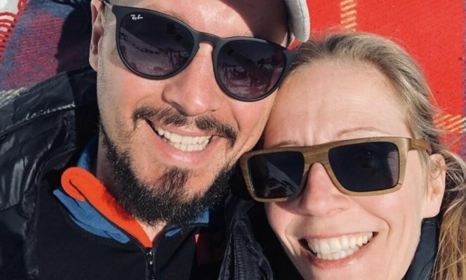 DØD: Nina Jensens samboer er død, 39 år gammel. Han fikk i 2018 påvist en kreftsvulst i hjernen. Foto: Privat