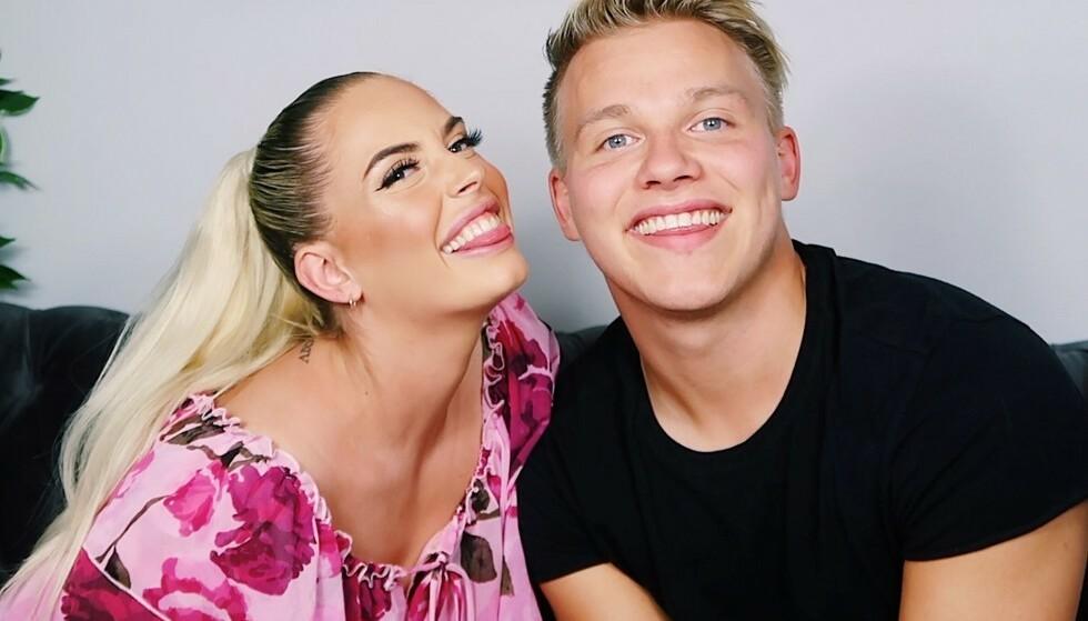 <strong>SØT MUSIKK:</strong> De tidligere «Paradise Hotel»-profilene Isabelle Eriksen og Erik Sæter avslører overfor Dagbladet at de har blitt kjærester. Foto: Privat