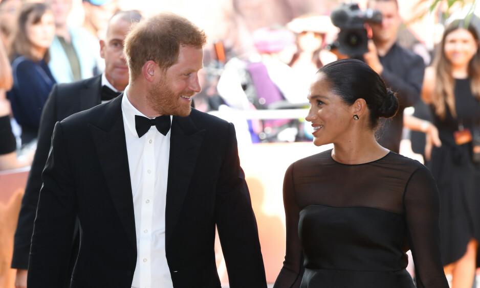 BURSDAG: I dag fyller hertuginne Meghan år. Prins Harry er blant dem som har delt en hilsen til henne i sosiale medier. Foto: NTB Scanpix