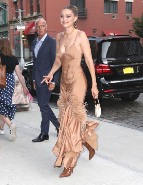 SUPERMODELL: Den berømte modellen Gigi Hadid kobles nå til en ny kjekkas etter bruddet med Zayn Malik. Foto: NTB Scanpix