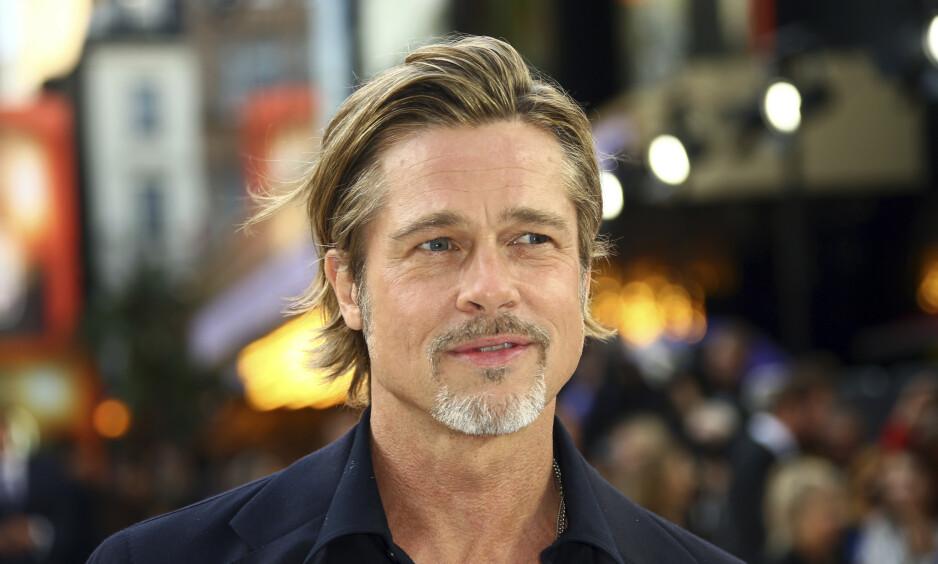NÆR DØDEN: Den populære skuespilleren Brad Pitt skal under et kort medlemskap i scientologikirken hatt en nær døden-opplevelse, etter at han måtte sitte i en svetteboks fem timer om dagen. Foto: NTB Scanpix
