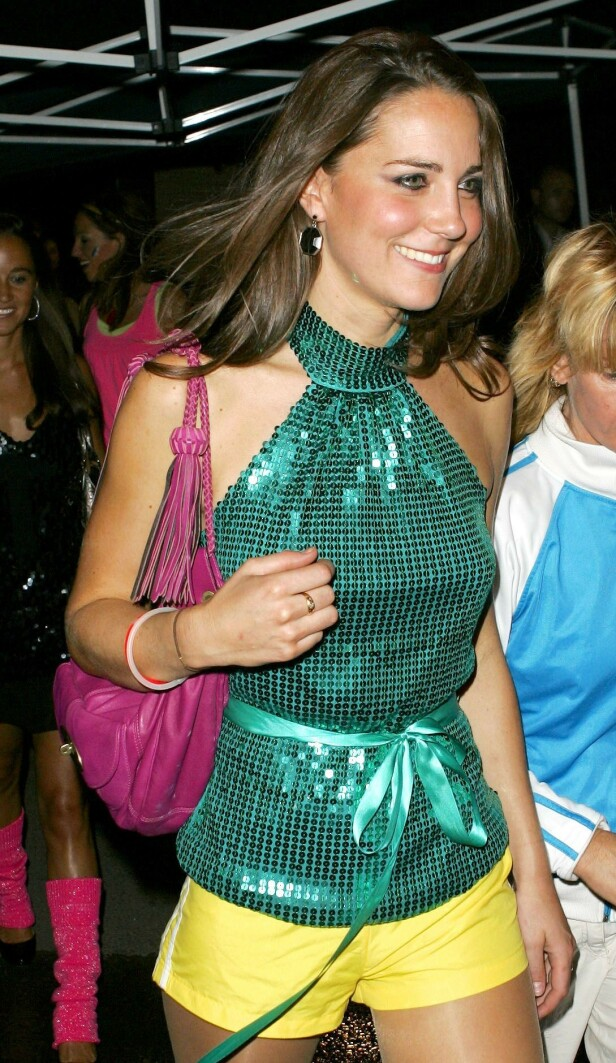 2008: Dette bildet er tatt sist gang hertuginne Kate hadde på seg shorts. Foto: NTB Scanpix
