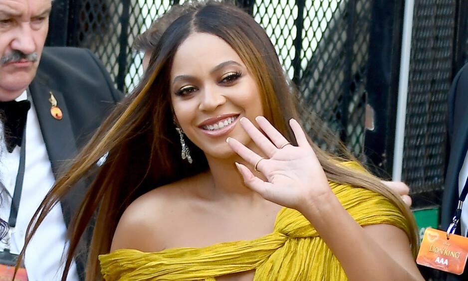 HEVDER BEYONCÉ ER GRAVID: Etter ferske bilder av Beyoncé, er fansen skråsikre på at stjernen venter sitt fjerde barn. Foto: NTB Scanpix