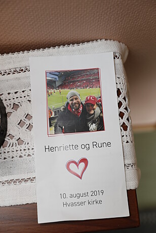 PROGRAM: Lørdag giftet Henriette Steenstrup seg med sin kjære utkårede Rune Assmann. Foto: Andreas Fadum/ Se og Hør