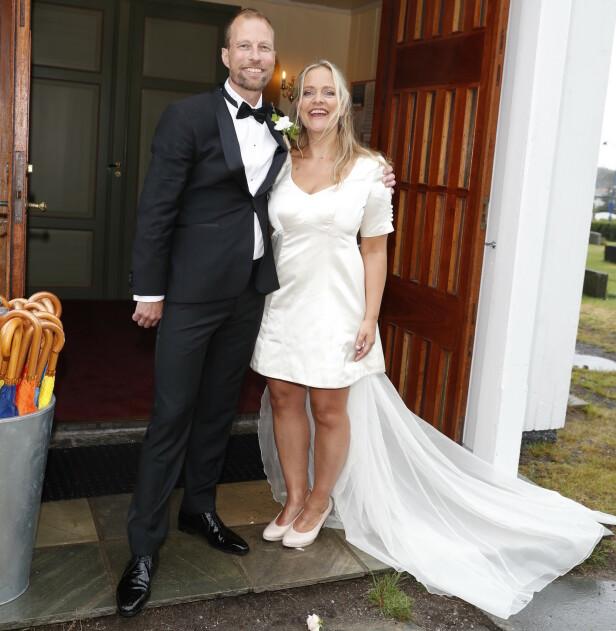 SMIDD I HYMENS LENKER: Henriette Steenstrup beskrev tilværelsen som nygift som helt fantastisk. Foto: Andreas Fadum/ Se og Hør