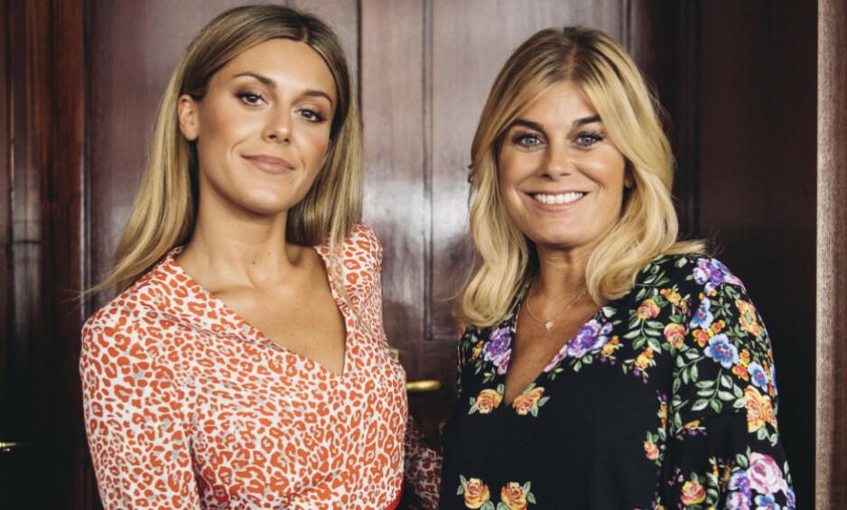 REALITYPROFILER: Bianca Ingrosso (24) og moren Pernilla Wahlgren (51) er på alles lepper om dagen. Nå får 24-åringen kritikk etter et restaurantbesøk i Stockholm. Foto: NTB Scanpix