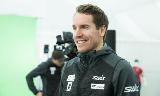 TV-KLAR: I fjor la Emil Hegle Svendsen opp som aktiv skiskytter. Nå skal han konkurrere på tv. Foto: NTB Scanpix