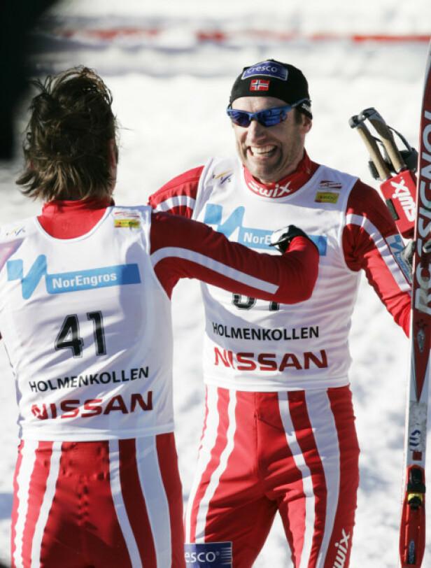 SKISTJERNE: Odd-Bjørn Hjelmeseth la opp som aktiv skiløper i 2012. Foto: NTB Scanpix
