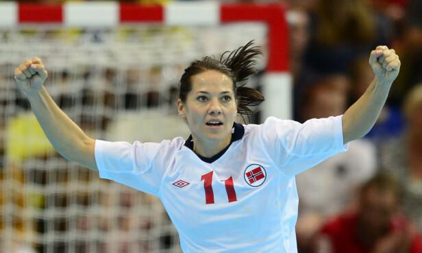 HÅNDBALLSPILLER: Kari Mette Johansen er en av Norges mestvinnende håndballspillere. Foto: NTB Scanpix