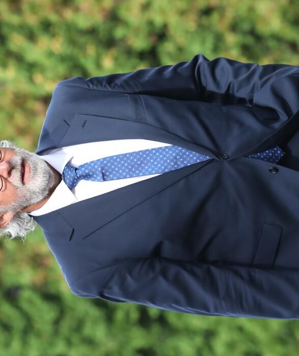 <strong>TIL STEDE:</strong> Venstre-politiker og tidligere soussjef ved Slottet, Carl Erik Grimstad. Foto: Andreas Fadum / Se og Hør