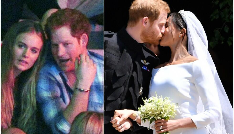 VAR I ET FORHOLD: Cressida Bonas og prins Harry var kjærester før han senere møtte og giftet seg med hertuginne Meghan. Nå går førstnevnte i ekskjærestens fotspor og gifter seg. Foto: NTB Scanpix