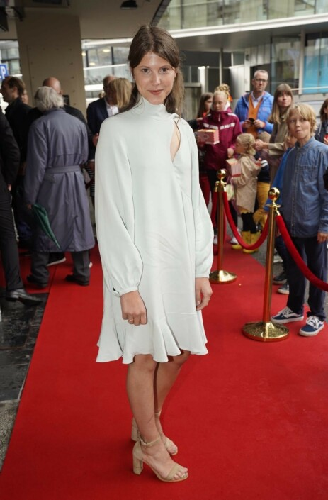HOVEDROLLE: Eili Harboe spiller prinsesse Kristin i filmen. Foto: Espen Solli / Se og Hør