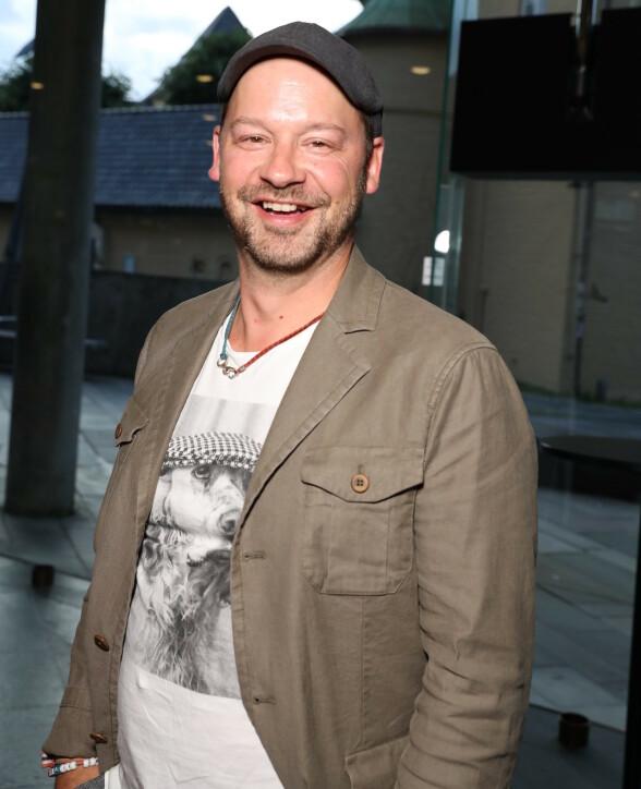 PÅ FEST: Petter Nyquist. Foto: Andreas Fadum / Se og Hør
