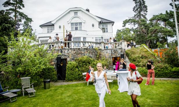 <strong>STORSLÅTT:</strong> Høyer-huset har god plass til mange gjester. Foto: Christian Roth Christensen / Dagbladet