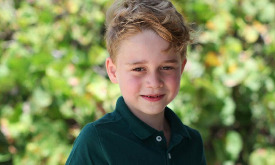 BALLETTDANSER: Seks år gamle prins George ble torsdag hånet på tv på grunn av at han danser ballett. Foto: Det britiske kongehuset
