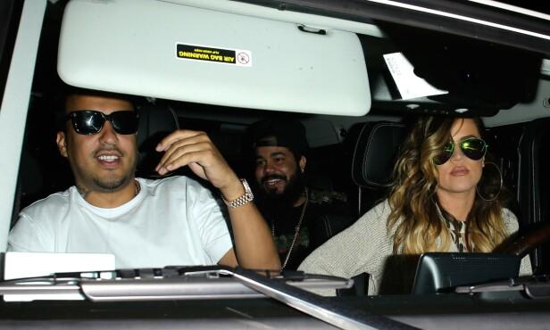 KORT FORHOLD: Khloé og rapperen ble ofte observert sammen i løpet av den korte tiden de datet. Foto: NTB Scanpix