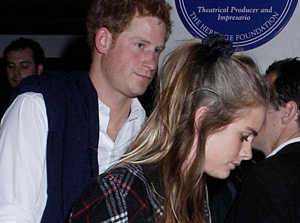 DATET: Prins Harry og Cressida Bonas datet i to år. Alle ventet da på en forlovelse. Foto: NTB Scanpix