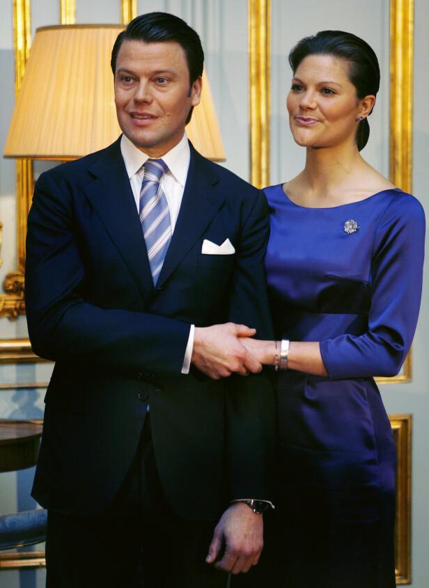 <strong>NYFORLOVET:</strong> 24. februar 2009 kunngjorde Victoria og Daniel Westling sin forlovelse. Det mange ikke viste, var imidlertid at Daniel var syk på det tidspunktet. Foto: NTB Scanpix
