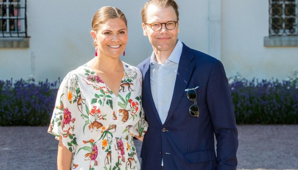 <strong>GODT GIFT:</strong> Sveriges kronprinsesse Victoria og prins Daniel fikk en røff start på forlovelsen da sistnevnte ble akutt syk våren 2009. Nå snakker han ut om sykdommen i et nytt intervju på svensk TV. Foto: NTB Scanpix