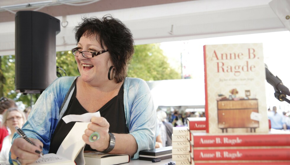 POPULÆR: Anne B. Ragde er en av landets mest populære forfattere. I juli ble hun rammet av hjerneslag. Foto: NTB Scanpix