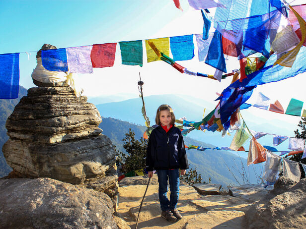 PÅ TUR: Ingrid Alexandra i Bhutan i 2010. Foto: Kronprinsparet / Det kongelige hoff