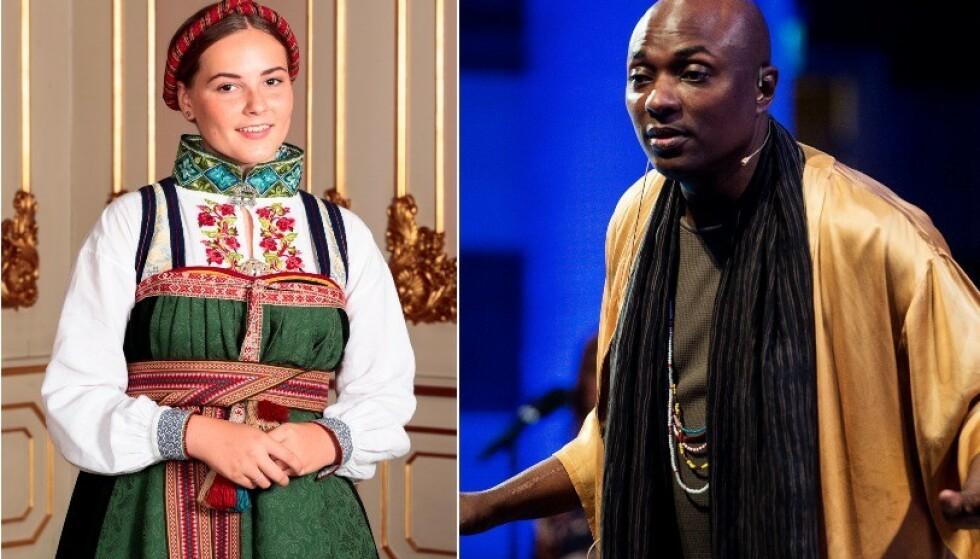 IKKE TIL STEDE: Durek Verrett kom ikke i prinsesse Ingrid Alexandras konfirmasjon. Nå beklager han. Foto: NTB scanpix
