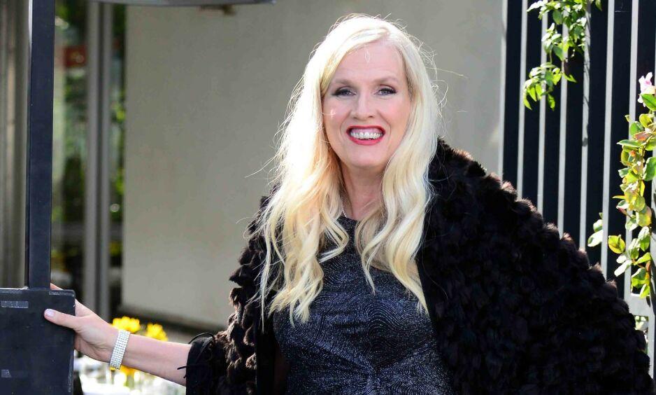 ROMANSE: Gunilla Persson avslører at hun har falt pladask for en nordmann. Foto: NTB Scanpix