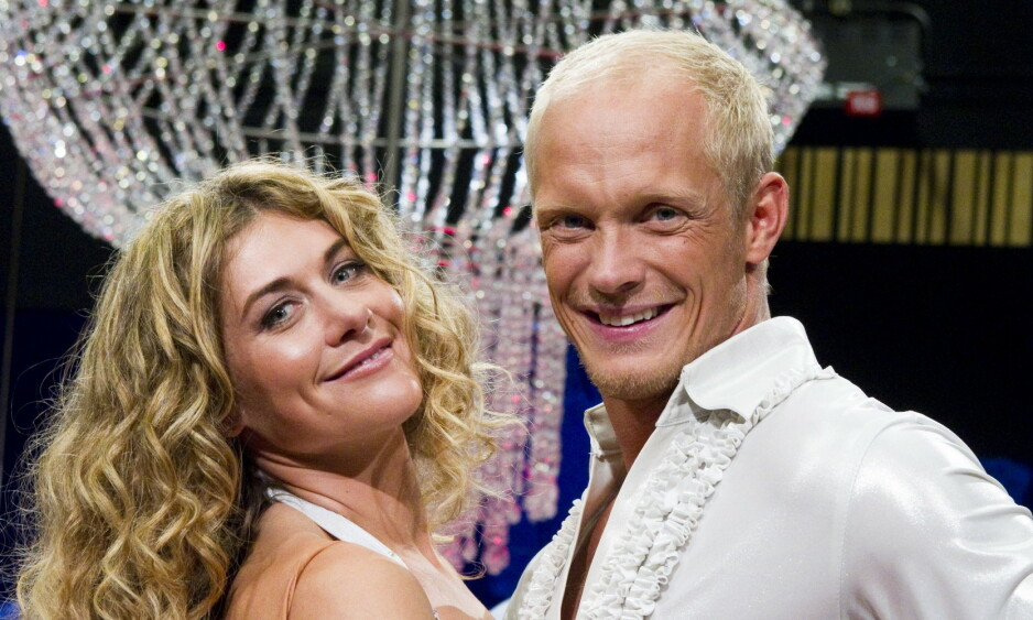 DANSET SAMMEN: Tobias Karlsson og polfarer og eventyrer Cecilie Skog danset sammen i «Skal vi danse» høsten 2010. Nå avslører Karlsson at han for flere år siden ble diagnostisert med virussykdommen hiv. Foto: NTB Scanpix