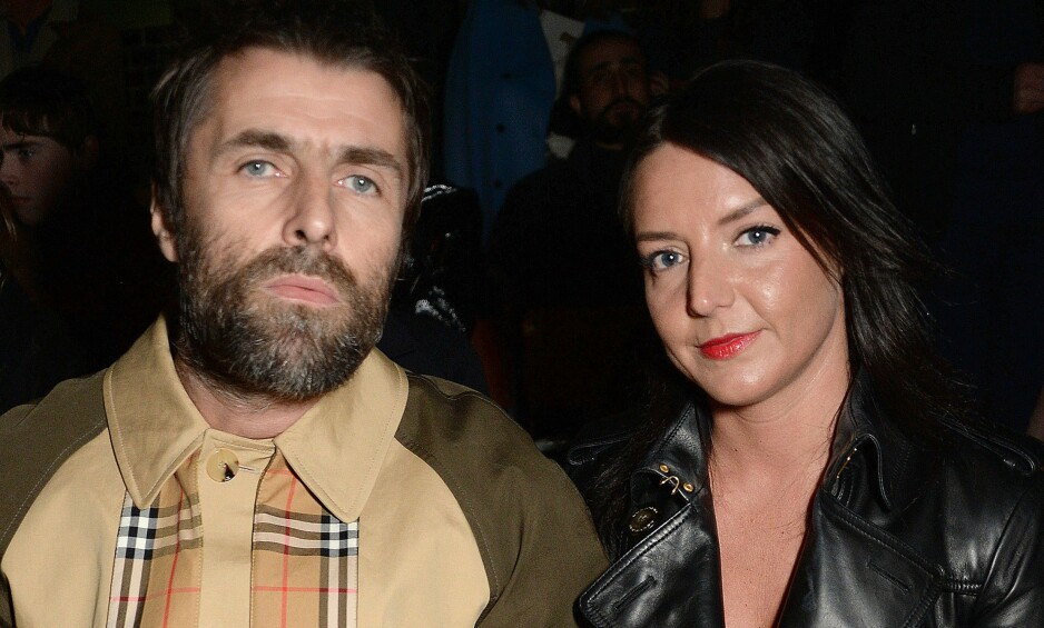 FORLOVET: Rockestjernen Liam Gallagher og kjæresten Debbie Gwyther er forlovet. Foto: NTB Scanpix