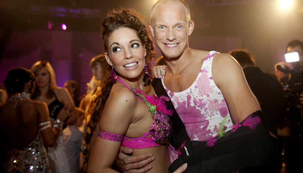 DANSEPROFIL: I 2009 danset Karlsson sammen med Triana Iglesias. Foto: NTB Scanpix