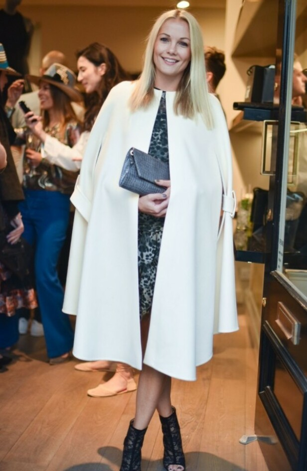 FLYTTER INN: Den danske TV-personligheten og modellen Caroline Fleming skal leie villaen til prins Joachim og resten av familien. Foto: NTB Scanpix