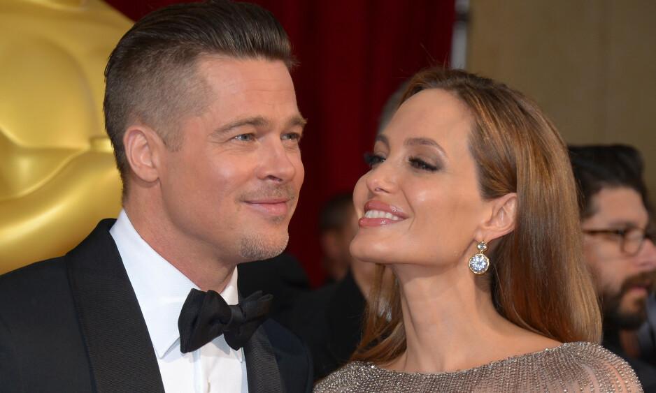 ÆRLIG: I et større intervju forteller Brad Pitt om tida etter skilsmissen med Angelina Jolie, og hvordan han måtte oppsøke hjelp for sine problemer. Foto: NTB Scanpix